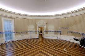 oval office floor. Interesting Floor A Look Inside The Empty Oval OfficeParts Of West Wing Within White  House Undergo RenovationsWASHINGTON DC  AUGUST 11 Office Sits Empty And  In Floor