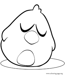Small Picture Pocoyo Sleepy Bird sleeping coloring page