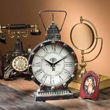 office large size floor clocks wayfair. Design Toscano Mantel Tabletop Clocks Wayfair Gotham Steampunk Metal Table Clock. Cinco Office. Office Large-size Large Size Floor