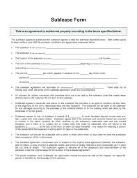 Commercial Sublease Agreement Template Image Titled Write A Sublease ...