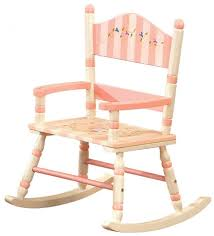 garden patio furniture Child Wooden Rocking Chair Wooden Rocking