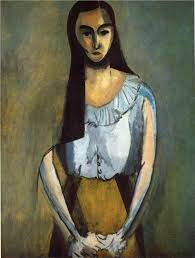 matisse 1913 the italian woman