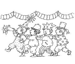 Disegno Di Carnevale Con Bambini Da Colorare Archives Disegni Da