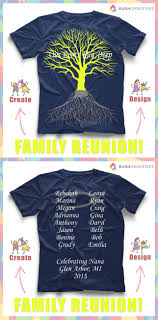 T Shirt Layout Design For Family Reunion