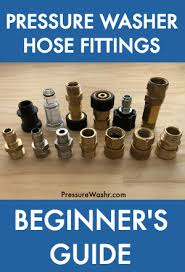 Pressure Washer Hose Fittings Beginners Guide