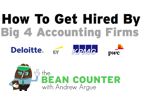 Get Hired By Big 4 Accounting Firms Course Budget Accounting
