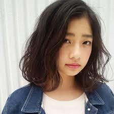 ゆるふわ パーマ 黒髪 ミディアムcorner Miri 176636hair
