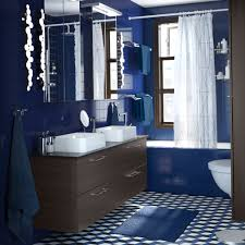 dark blue bathroom tiles. Unique Tiles Charming Blue Bathrooms 7 Bathroom And Brown Amazing Striped Bath Towels  Decor Inside Dark Tiles A