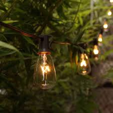 Edison Bulb Patio String Lights Myhh Lites 20ft Outdoor Patio String Lights With 21 St35 Edison Bulbs 1 Extra Ul Listed For Indoor Outdoor Decor Perfect For Garden Backyard