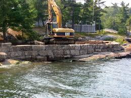 seawalls rock retaining walls