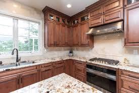 brief description brown project kitchen countertops
