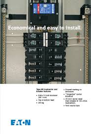 eaton 100 amp 20 space circuit type br main breaker load center Eaton 200 Amp Fuse Box learn more about electrical panels here in our buying guide 200 Amp Fuse Block