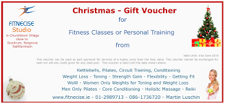 Gift Voucher Format Sample Qualified Christmas Gift Voucher Template Sample For Fitness Class 13