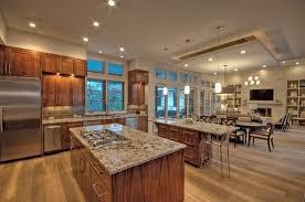 open concept floor plan lighting