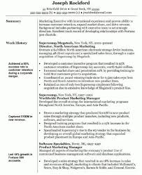 Best Solutions Of Sample Resume Marketing Manager About Download
