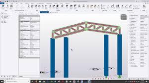 Structural Designer Jobs Usa Modeling And Design Truss By Tekla Structural Designer Tsd Brief Video
