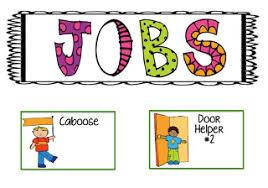 Free Preschool Classroom Job Chart Pictures Free Classroom Jobs Cliparts Download Free Clip Art Free