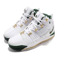 Details About Nike Zoom Lebron Iii Qs Svsm Home White Green Men Basketball Shoes Ao2434 102