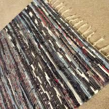 rag rug chindi floor mat scandinavian area rug boho chic hi