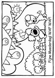 Woezel En Pip Kleurplaat Uitprinten Kleurplaat Woezel En Pip Feestje
