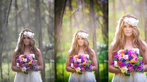 photo wedding photo editing oil painting color adjustment you