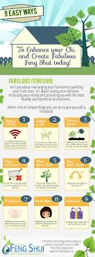 infographic feng shui. 9 Easy Ways Infographic Feng Shui