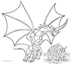 Printable Bakugan Coloring Pages For Kids Cool2bkids Cartoon