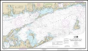 Connecticut River To Point Judith Nautical Chart Compilation