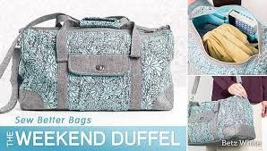 Duffle Bag Pattern