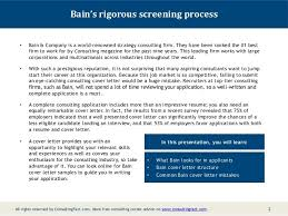 Cover Letter For Consulting Company Bain Cover Letter Consulting Chechucontreras Com