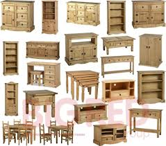 Pine Living Room Furniture Corona Rustic Mexican Light Fiesta Style Solid Pine Living Room