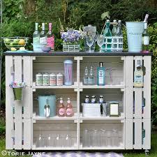 DIY Outdoor Bar Tutorial Torie Jayne