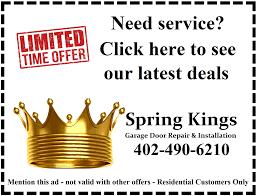 omaha garage door repairSpring Kings Omaha  Omahas Best Garage Door Repair and