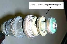 how to replace tub spout fix bathtub faucet diverter lever