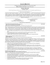 Hospitality Resume Resume Hospitality Resume 13