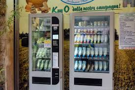 Name A Food You Never See In A Vending Machine Extraordinary Cheese Vending Machines In Parma Italy An American In Rome
