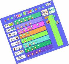 Fiesta Crafts Star Chart Magnetic Star Reward Chart For Child Kids Good Behaviour