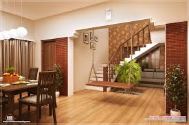 indian home interior design. dining and stair design indian home interior