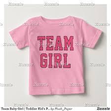 Light Pink T Shirt Design Team Baby Girl Pink Baby T Shirt Zazzle Com Tee Shirt