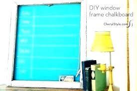 Framed Chalkboard Calendar Jamesdelles Com