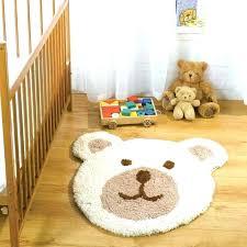 bear rug nursery mountain regular size baby teddy floor
