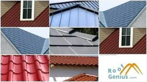 different types of metal roofing comfy roof metal roof types pictures o77