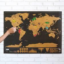 scratch off world map  gizmosu