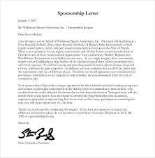 Sponsorship Letters Magnificent 44 Sponsorship Letter Templates PDF DOC Free Premium Templates