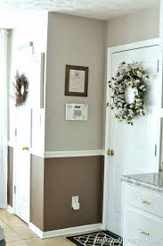painting two tone walls with chair rail decoration painting two tone walls with chair rail breakfast area paint colors help me decide painting two tone