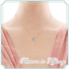 heart lock pendant mini sterling silver enamel salada bowl new work tiffany co necklace accessories