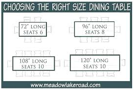 what size round table seats 10 person round table for seating chart s dining