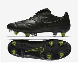 nike premier ii sg ac leather soccer cleats sizes 9 12 triple black 921397