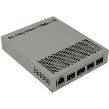 Роутер <b>MikroTik Cloud</b> Router <b>Switch CRS305</b>-<b>1G</b>-<b>4S</b>+IN 1 x RJ45 ...