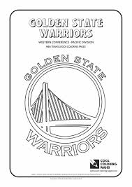 Small Picture Golden State Warriors NBA Basketball Teams Logos Coloring Pages